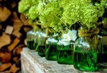 recipientes para flores