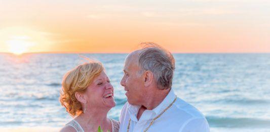 ramo de novia para una boda en la playa