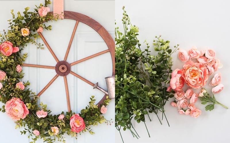 3 guirnaldas de verano que puedes hacer fácilmente para decorar la puerta de entrada