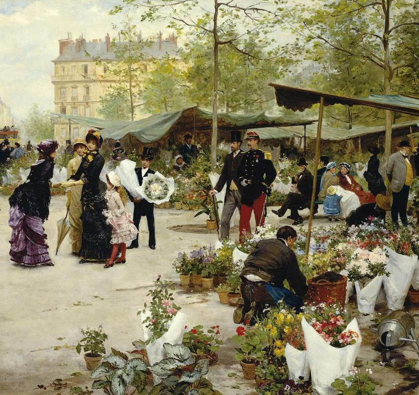 lenguaje victoriano de las flores