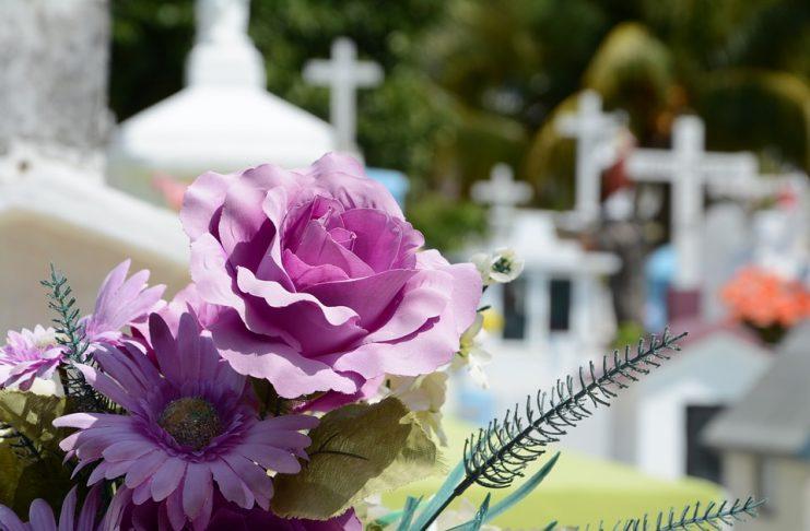 flores para el cementerio