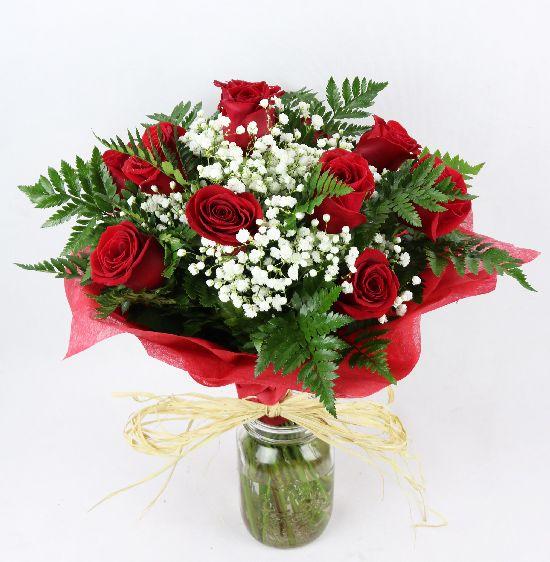envio de docena de rosas rojas a domicilio