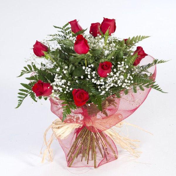 enviar docena rosas rojas
