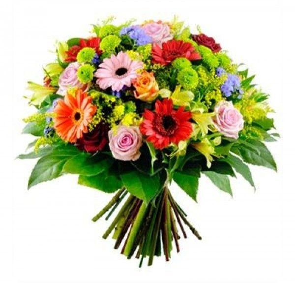 regalar rosas con gerberas