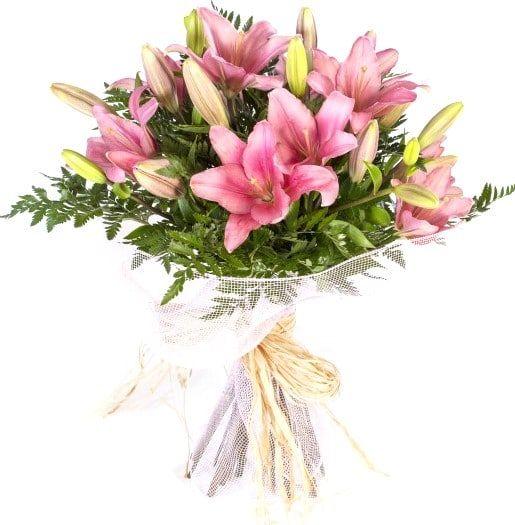 Ramo Liliums Pink