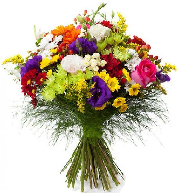 enviar ramo multicolor