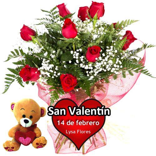 regalar docena rosas rojas san valentin